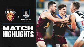 Brisbane V Port Adelaide Highlights | Round 5, 2020 | Afl