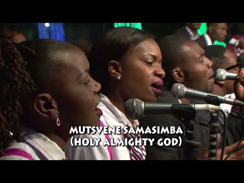 Pastor Alex Gunda with UFIC Choir-Mutsvene Baba