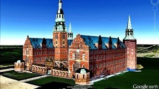 HISTORICAL PLACES OF DENMARK IN GOOGLE EARTH PART FOUR  ( 4/4 )