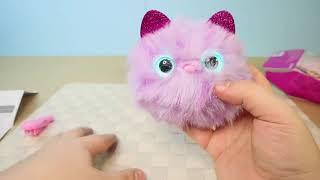 Помсис Pomsies  интерактивная игрушка котенок Помси