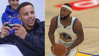 Stephen Curry Plays NBA 2K19 with DeMarcus Cousins (Parody)