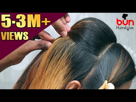 Perfect PUFF Hairstyle | Every day Quick and Easy Hairstyles | Hair Style Girl