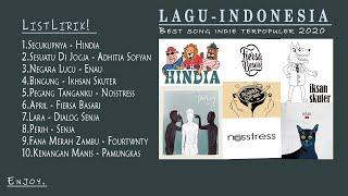 Kumpulan Top Indie Indonesia Paling Populer + Lyrics Lagu Terbaru Tahun 2020 | Lagu Indie Tahun 2020