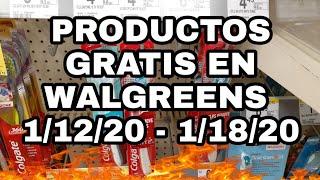 Ofertas para WALGREENS / Productos gratis 👉 1/12/20 - 1/18/20