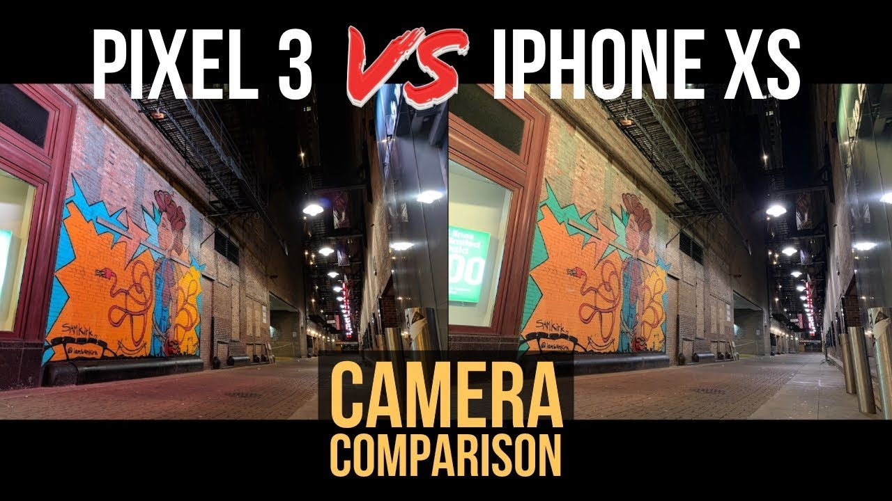 Pixel 3 vs iPhone XS - Camera Comparison