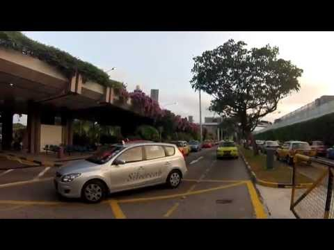 Where is Terminal 3 Taxi Stand in Singapore Changi Airport?