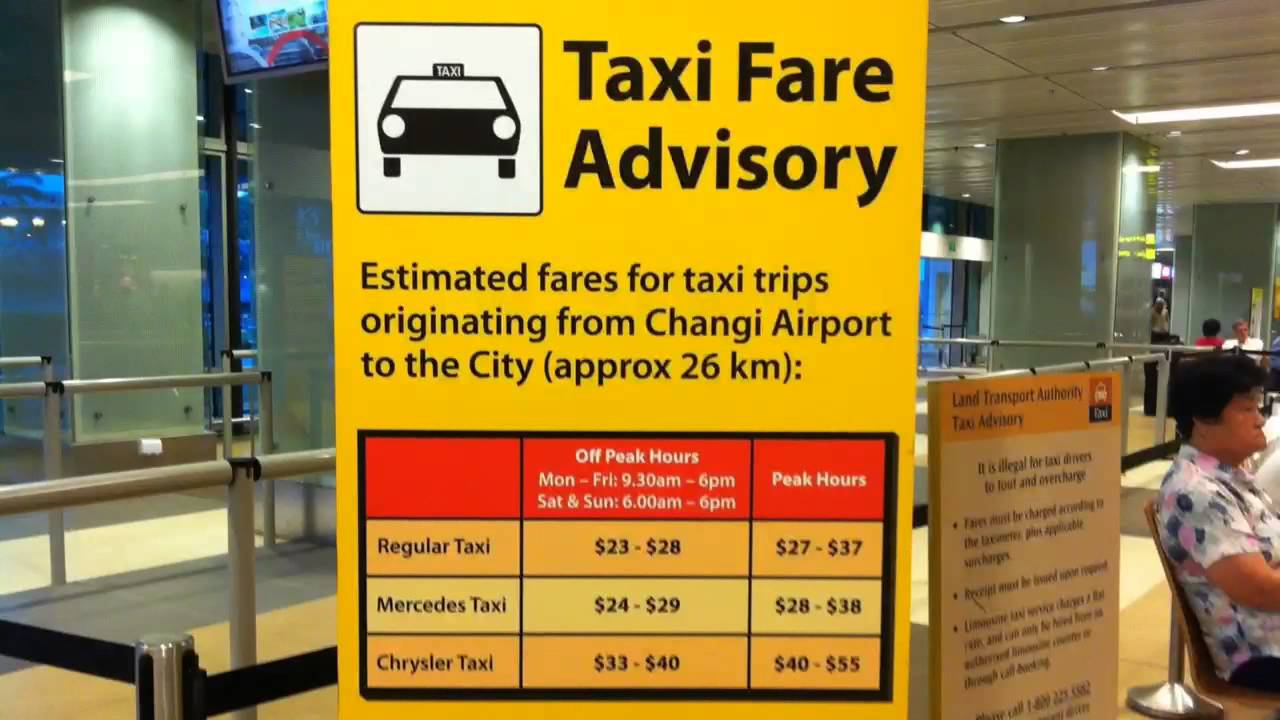 Where is Terminal 3 Taxi Stand in Singapore Changi Airport ...