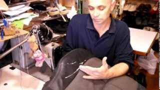 Как отремонтировать обивку сидения авто.(ВНИМАНИЕ! Мой видеокурс