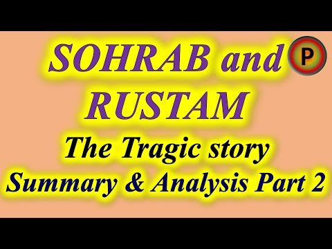 10E0501 IN HINDI  Sohrab and Rustam Part 2 ✅