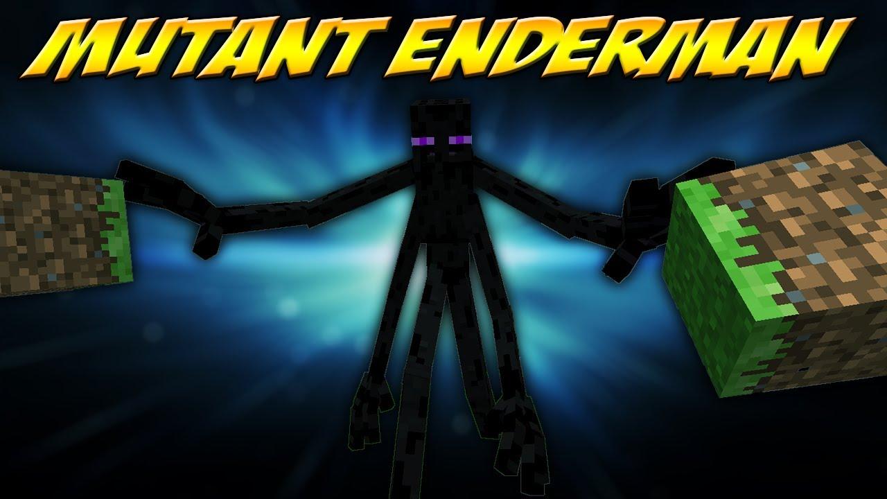 minecraft mutant enderman mod mutant creatures mod