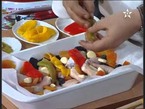 مأدبة برنامج الطبخ المغربي الحلقة 12