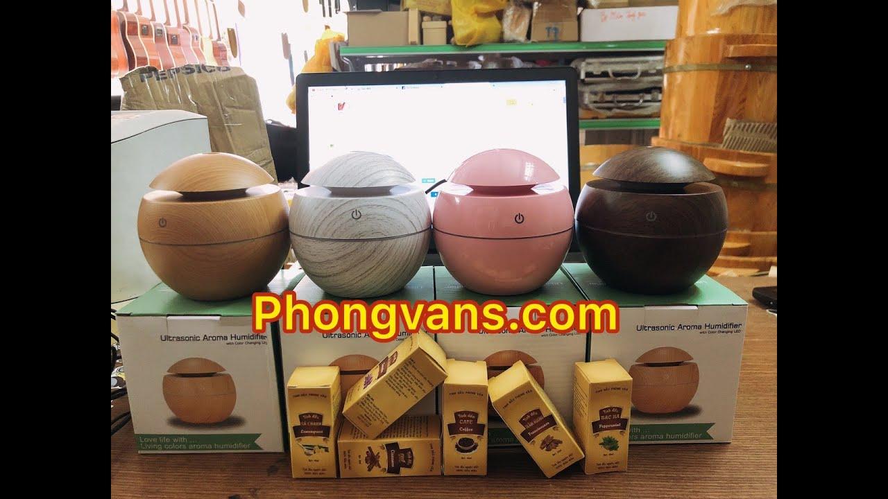 Hướng dẫn sử dụng máy phun sương tròn Ultrasonic Aroma Humidifier 0947.310.263 Tp HCM