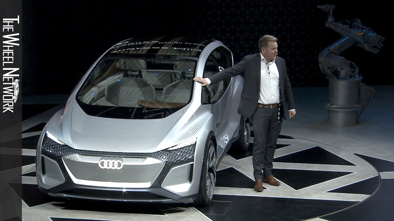 Audi AI:ME Electric Autonomous Concept Debuts In Shanghai: Videos