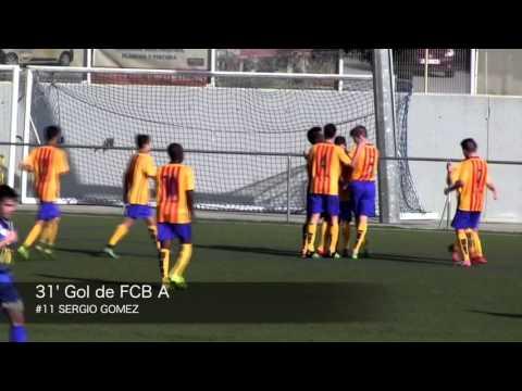 CF Badalona A 0-4 FCB A (Divisió d'Honor Cadet)