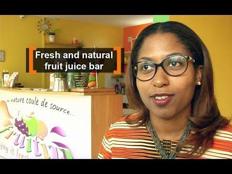 Cote d'Ivoire: Fresh and natural fruit juice bar