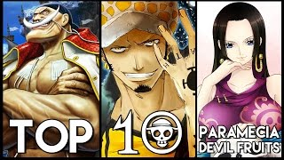 Top 10 Paramecia Devil Fruits In One Piece