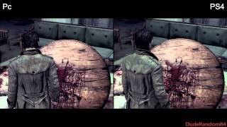 The Evil Within Pc Vs PS4 Graphics Comparison