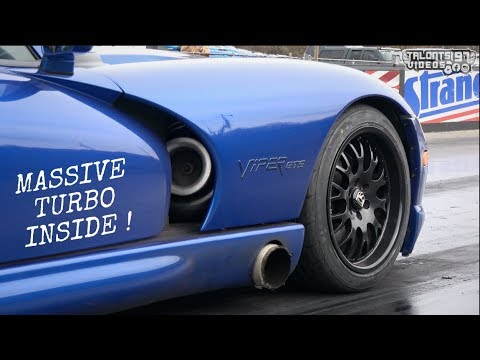 Massive Turbo Viper GTS Pushing Toward Single Digit Time Slips