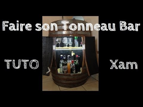 tuto cr er son tonneau bar how to create a barrel bar xameuh21 youtube. Black Bedroom Furniture Sets. Home Design Ideas