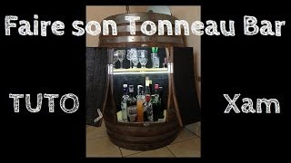 [tuto] Créer Son Tonneau Bar - How To Create A Barrel Bar [xameuh21]