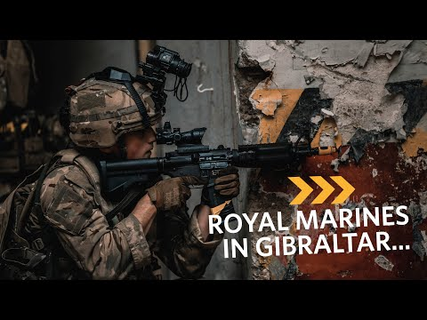 Royal Marines | In Combat with 43 Commando in Gibraltar