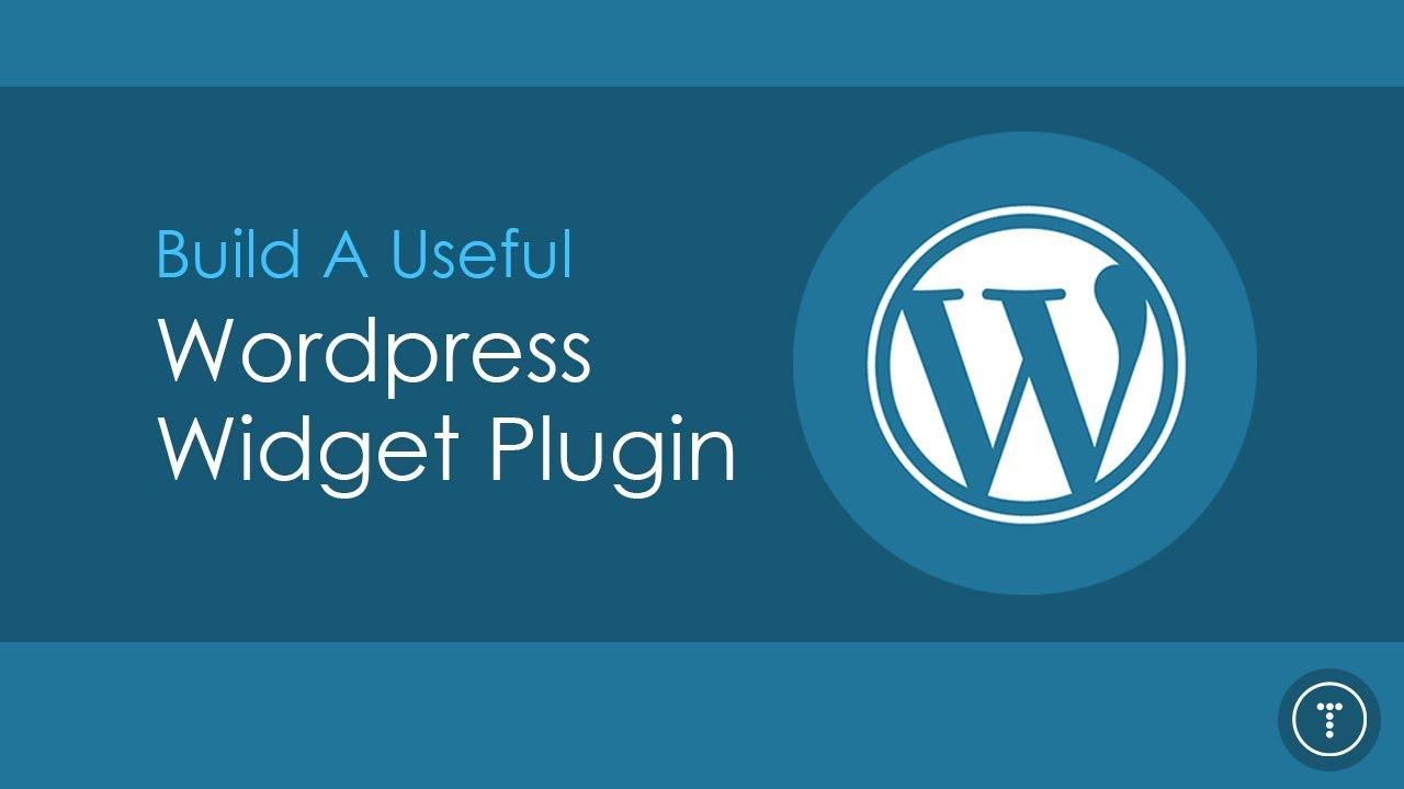 Build a Useful Wordpress Widget Plugin