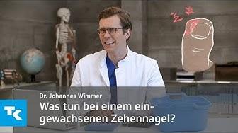 Was tun bei einem eingewachsenen Zehennagel? | Dr. Johannes Wimmer