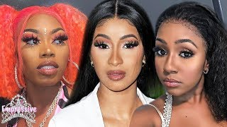 Cardi B and Yung Miami go off on Asian Da Brat and defend using ghostwriters