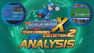 Mega Man X Legacy Collection 1 + 2 ANALYSIS - Super Rockman X Anniversary Stage Edition