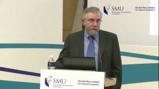 Public Lecture by Prof Paul Krugman: Global Economic Outlook - Preventing The Next Crisis