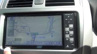 トヨタ純正ナビ NSCT-W61 ルート設定~案内開始