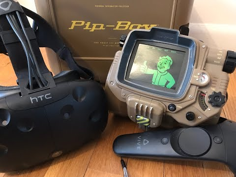 FALLOUT 4 VR - Mod Testing - Jet Pack, Mutant Powers, and more