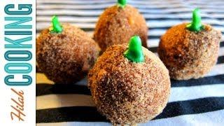Donut Holes | Pumpkin Cake Donuts Halloween Recipe #6