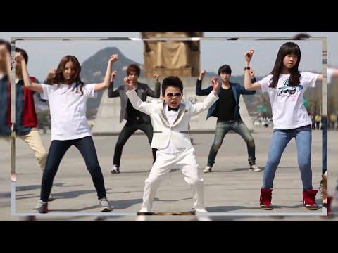 """PSY - """"Gentleman"""" Parody by Little PSY (Hwang Min Woo) feat. OFFROAD"""