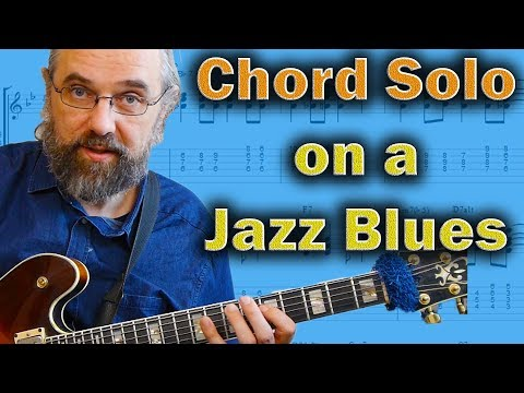 Jazz Blues Chord Solo
