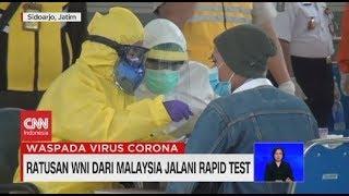 Gambar cover Ratusan WNI Dari Malaysia Jalani Rapid Test