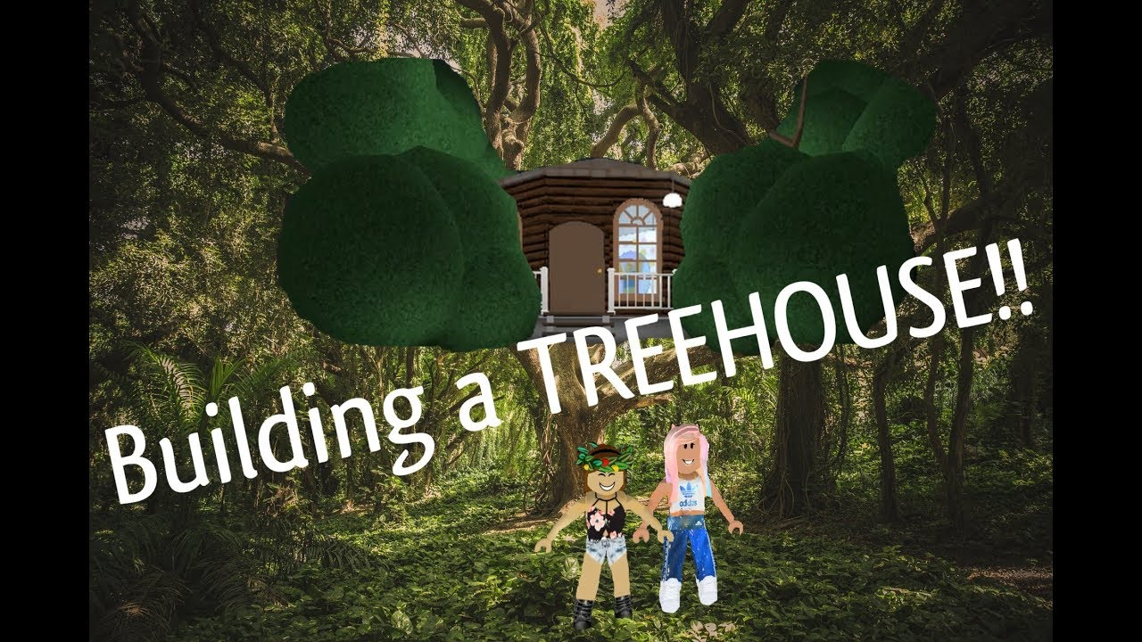 How To Build A Treehouse In Bloxburg Without Advanced