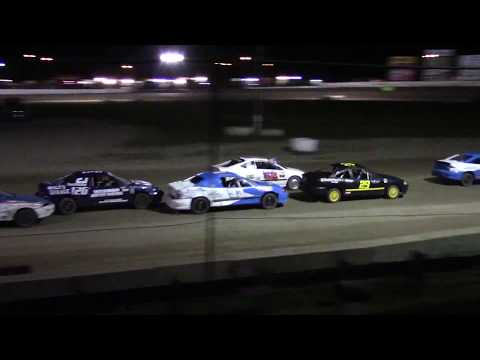 Ransomville Speedway 4 Cylinder Feature Highlights 9-15-17