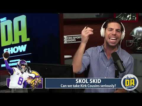 We can't take Kirk Cousins seriously after the Patriots stinker I The D.A. Show
