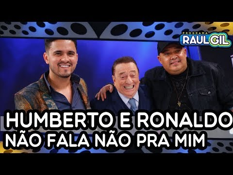 Humberto e Ronaldo cantam