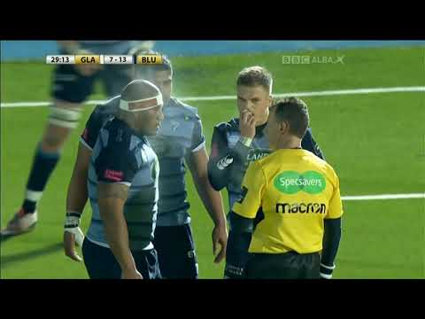 Guinness PRO14 Round 10 Highlights: Glasgow Warriors 40-16 Cardiff Blues