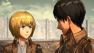 Attack on Titan PS4 Gameplay Walkthrough  - TGS 2015