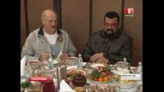 Александр Лукашенко встретился со Стивеном Сигалом. Панорама