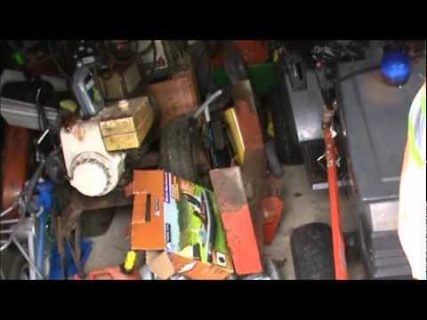 Tractor Yard Sale & Fixing Air Regulator