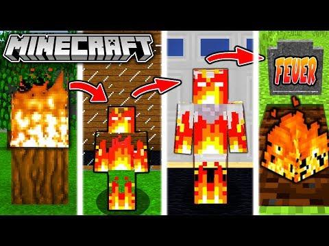 FEUER LEBENSZYKLUS in Minecraft - Vom MENSCHEN zur FLAMME