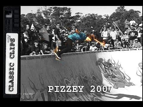 Pizzey Bowl Jam 2007 Skateboarding Classc Event #17 Shane Cross