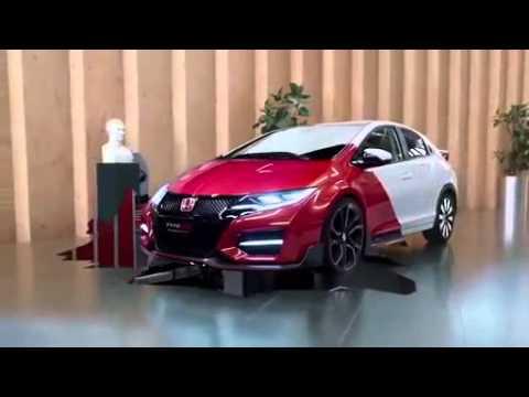 คลิปรถใหม่ Honda Civic Type-R 2015 (Teaser)