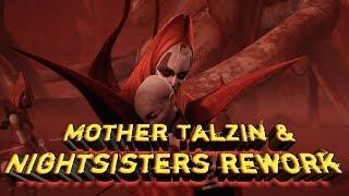 Mother Talzin and Nightsisters rework !!!  star wars galaxy of heroes swgoh