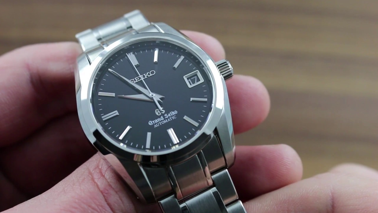 the best attitude c6856 66409 Grand Seiko SBGR053 Automatic Functions & Care