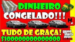 GTA 5 GLITCH DINHEIRO CONGELADO  *1.43* TUDO DE GRAÇA! (GTA 5 Money Glitch) Director Mode Glitch!